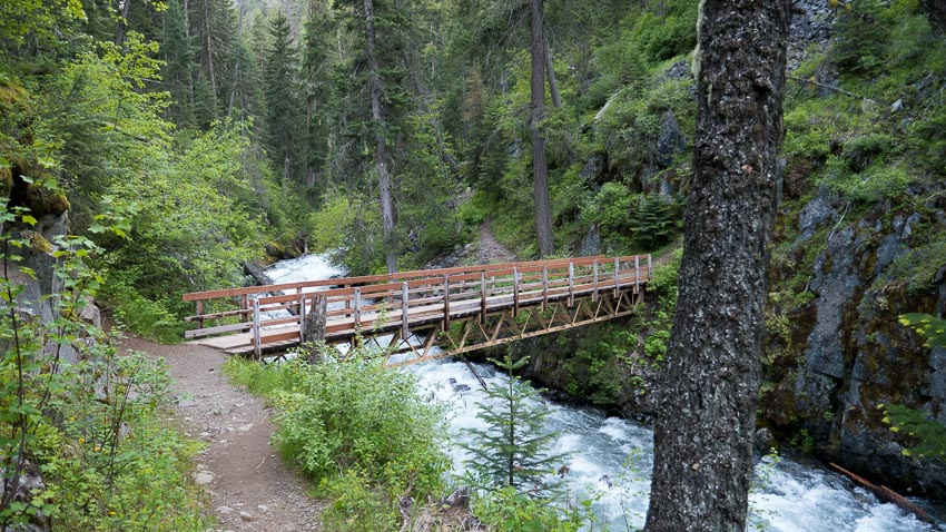 chief joseph trail bridge
